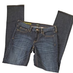 J Crew  Matchstick Stretch Straight Leg Jeans  27
